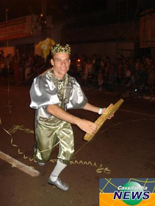 Daniel Martins é o rei momo do CassiFolia 2009Bruna Girotto
