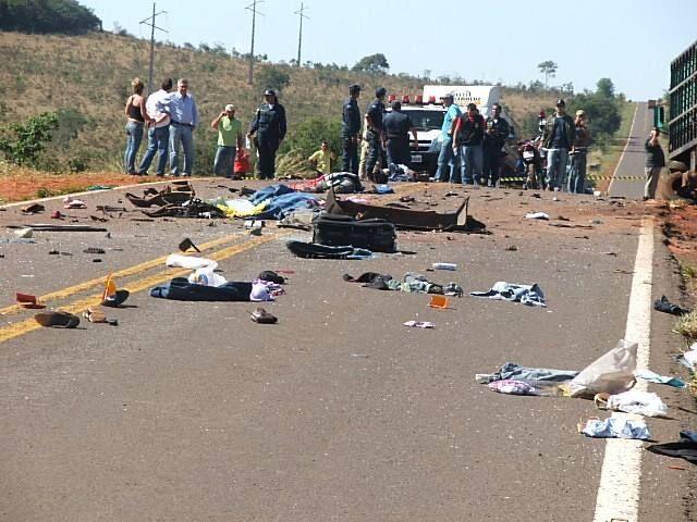 Fotogaleria: acidente em Camapuã - Geral - Cassilândia ...