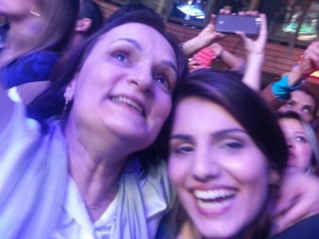 """Maria Cristina e Luciana no """"melhor presente de Dia das Mães""""."""