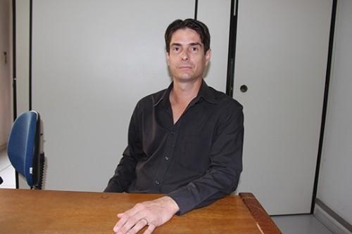 Secretário Municipal de Saúde de Aparecida do Taboado, Márcio Garcia Galdino.
