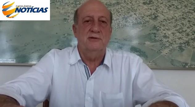 """Cassilândia: vereador afirma que não terá """"Toque de Recolher"""" para delivery"""