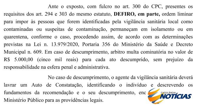 Covid-19: descumprir isolamento pode custar R$ 5 mil em Paranaíba