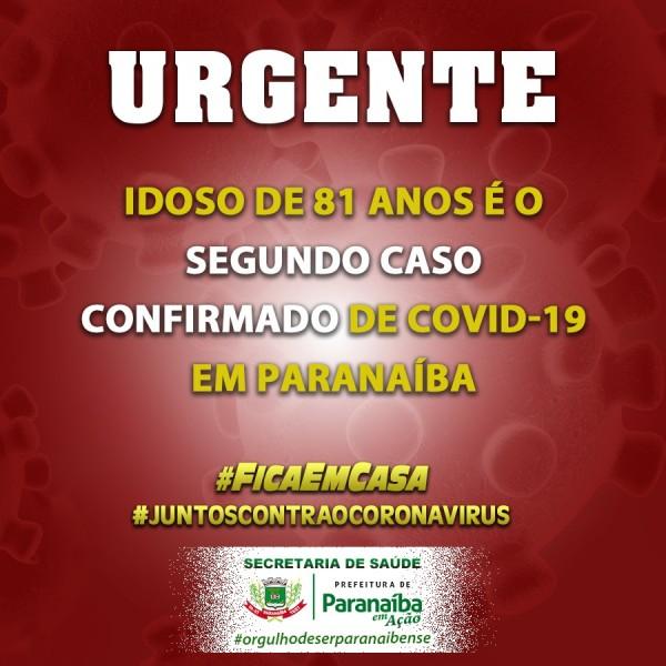 Covid-19: mais informações sobre o 2º caso de coronavírus em Paranaíba
