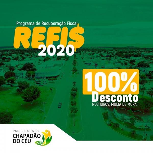 Goiás: Prefeitura de Chapadão do Céu apresenta o Refis 2020 de dívidas