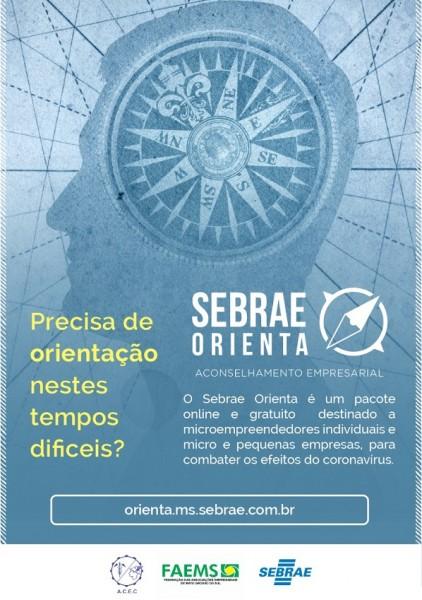 Associação Comercial de Cassilândia apresenta o Sebrae Orienta