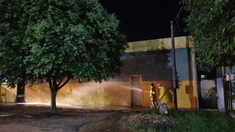 Fotogaleria: confira o trabalho de desinfecção realizado pela Vigilância