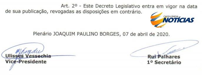 """Câmara Municipal """"derruba"""" veto do Prefeito Jair à Lei que proíbe contratação"""