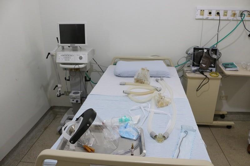 Fotogaleria: Hospital Municipal de Chapadão do Sul instala 5 leitos de UTI
