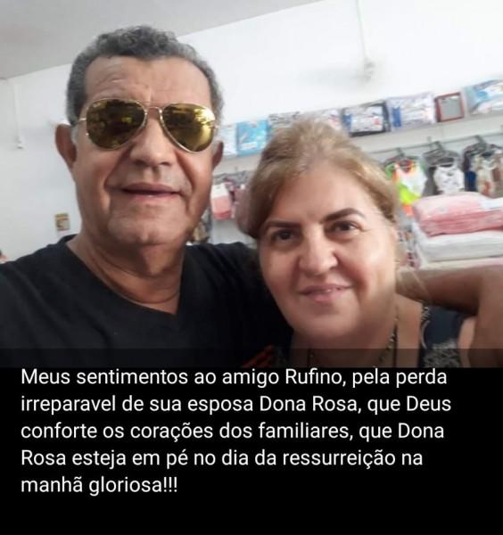 Faleceu em Campo Grande Rosa Tigre, esposa de Rufino Tigre. O casal residiu em Cassilândia . Ele era gerente do Banco Itaú (hoje no local funciona o Cartório do Édio). A foto do casal foi postada pelo amigo Thiago Evaristo de Paula. A nossa solidariedade.