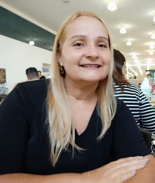 Secretária de Finanças de Cassilândia, Aucirene Assis.