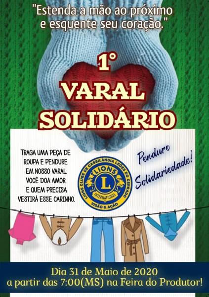 Fotogaleria - Conheça o Varal Solidário