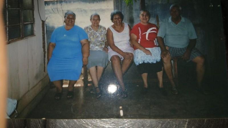 Elias Rodrigues comunica que faleceu ontem em São José do Rio Preto a sua irmã Orminda Rodrigues da Silva. É a que aparece no meio da foto.
