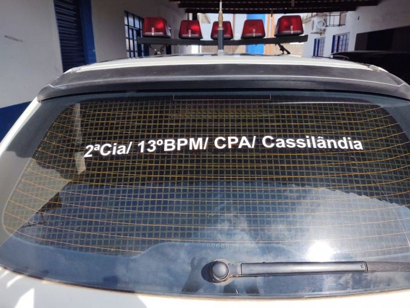 Polícia Militar de Cassilândia grava vídeo para criança que sonha em ser PM