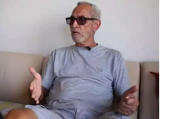 Edmur durante entrevista ao site Destakagora, após retornar com aeronave. (Foto: Destakagora)