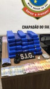 Polícia Civil prende dois traficantes com drogas e dinheiro falso