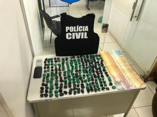 Polícia Civil faz operação de combate ao tráfico de drogas em Caçu