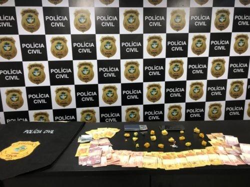 Polícia Civil deflagra em Luziânia contra o tráfico de drogas