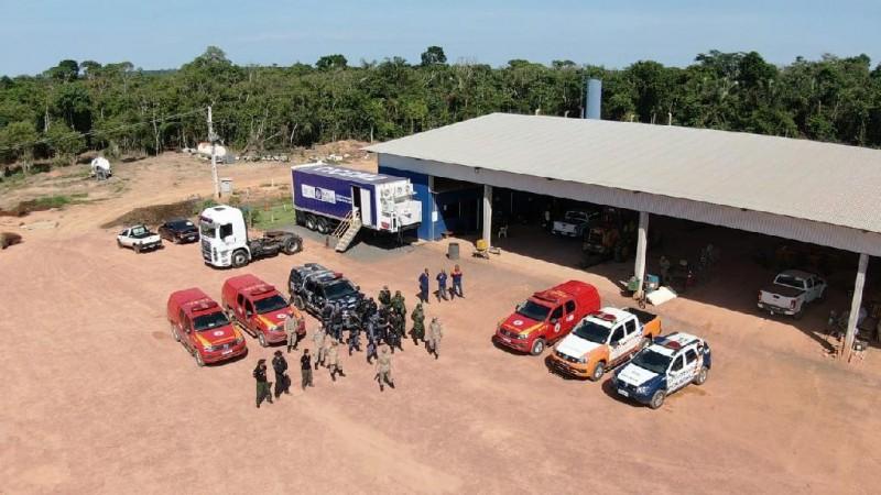Operação Abafa atingiu os municípios de Nova Ubiratã, Feliz Natal, Vera, Santa Carmem, Paranatinga e Gaúcha do Norte. - Foto por: CBMMT