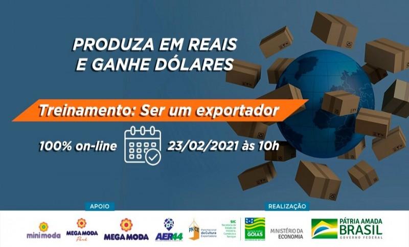 Goiás: Governo oferece treinamento on-line para empresário aprender a exportar