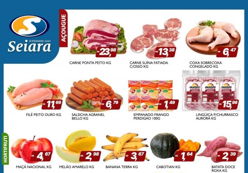 Seiara Supermercado Econômico traz mais um novo folheto de ofertas; confira