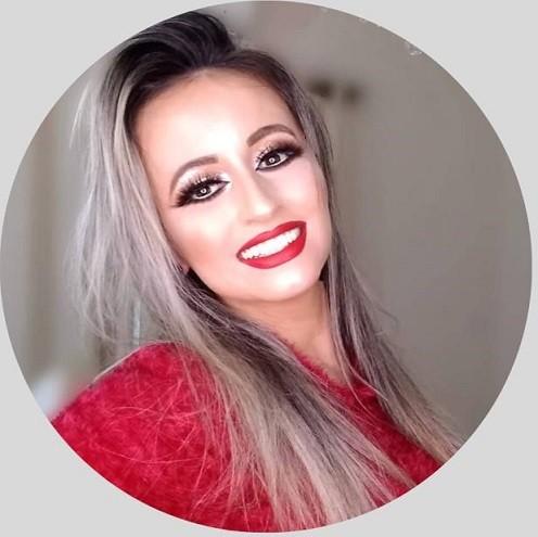 Priscilla Pacheco, proprietária do Studio Makeup Academy em Cassilândia, MS