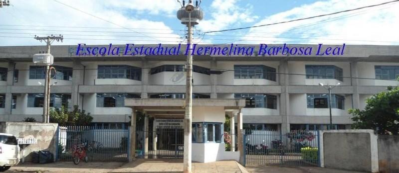 Escola Estadual Hermelina Barbosa Leal, em Cassilândia.