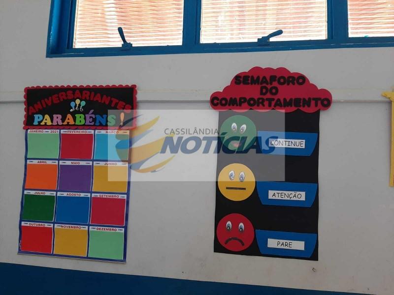 Fotogaleria: Escolas Municipais sendo organizadas para volta às aulas amanhã