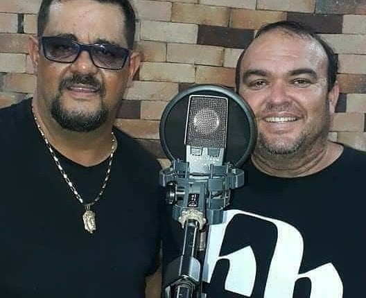Paulo Sérgio e Santiago (Foto: Reprodução/Instagram)