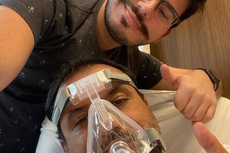 Geraldo Luís se prepara para deixar UTI e se diz 'melhor e mais disposto'