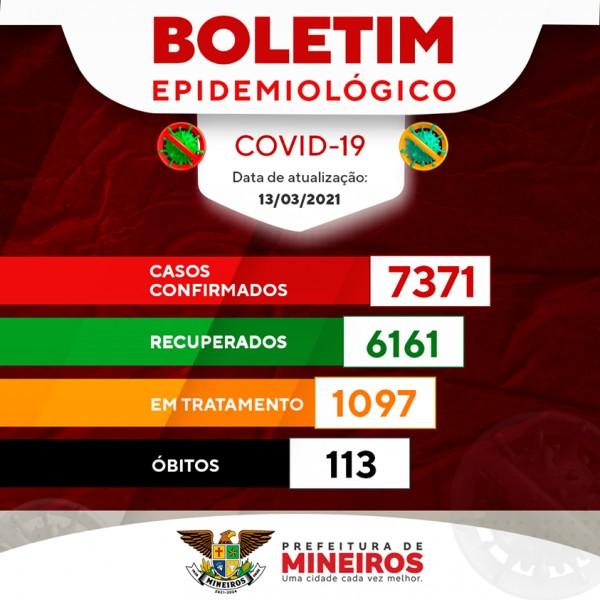 Covid-19: confira o boletim coronavírus de Mineiros, Goiás