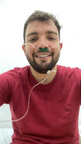 Novas e ótimas informações sobre o estado de saúde de Lucas Machado Ferreira