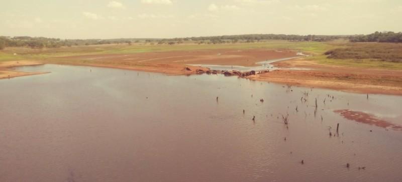 Reservatório de Água Vermelha cai a 15,3% do volume útil