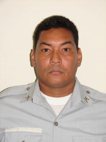 Sargento da PM James Neves de Oliveira, internou no dia 14