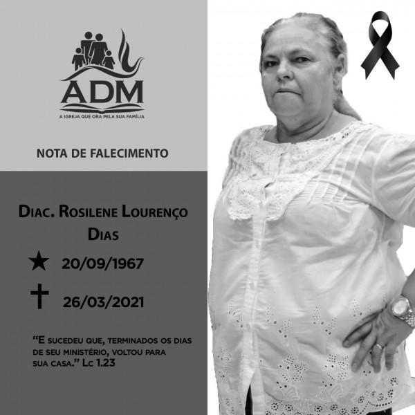 Fotogaleria: morre Rosilene Lourenço Dias