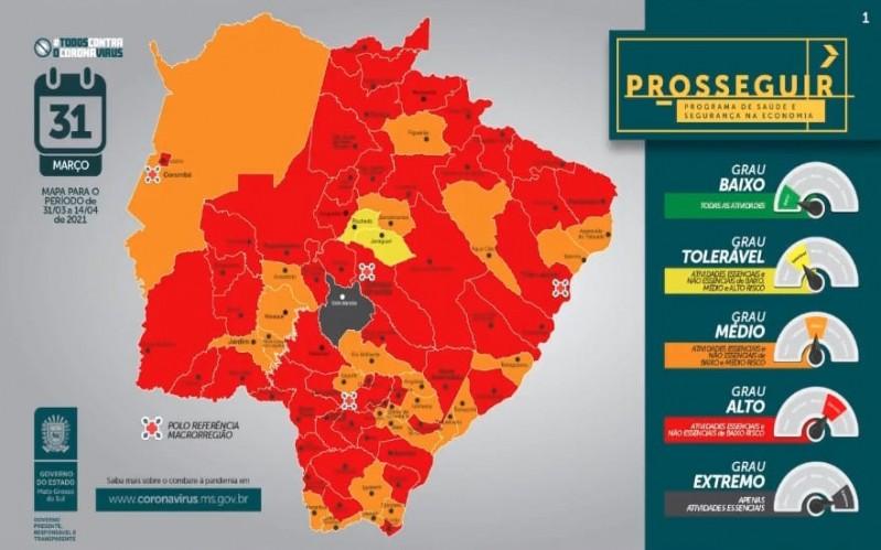 Com o novo decreto estadual, veja como fica o funcionamento em Cassilândia