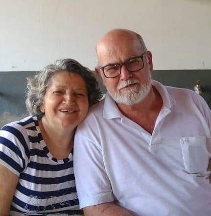 Cícera e seu marido Chiquinho Dantas