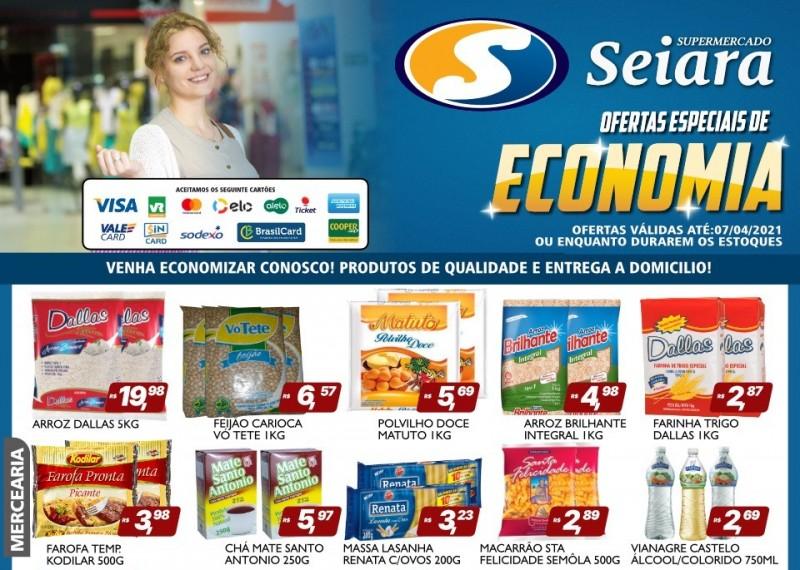 Supermercado Seiara Econômico: confira o folheto das ofertas de hoje