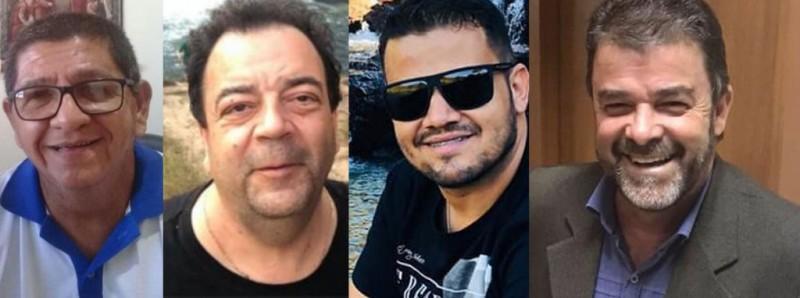 Padre Padre Edson Luiz Dias Cardoso, empresário Ernesto Savarez Filho, ex-vereador Leonardo Sandes e Amarildo Monteiro são vítimas da Covid-19