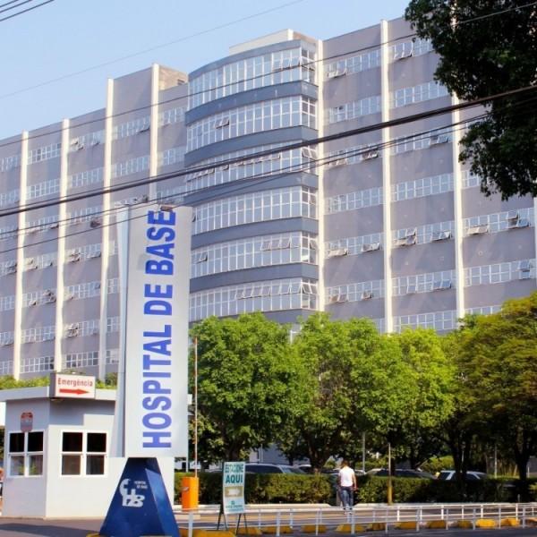 Foto por: Divulgação Hospital de Base de Rio Preto tem 99% dos leitos UTI Covid ocupados.