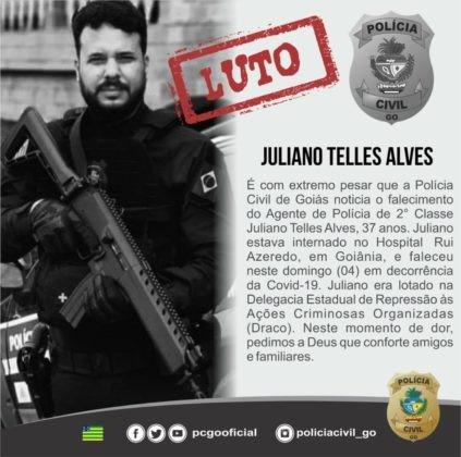 Fotogaleria: morre o agente de polícia Juliano Telles