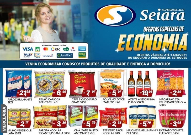 Seiara Supermercado Econômico: veja o novo folheto de ofertas