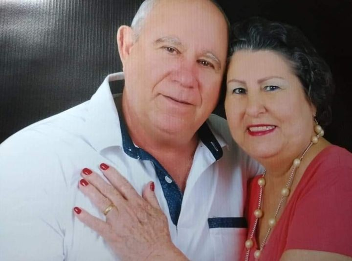Pedro Criado Perenha e sua esposa Elza Luzia Colombo Perenha - Foto: Reprodução/Facebook