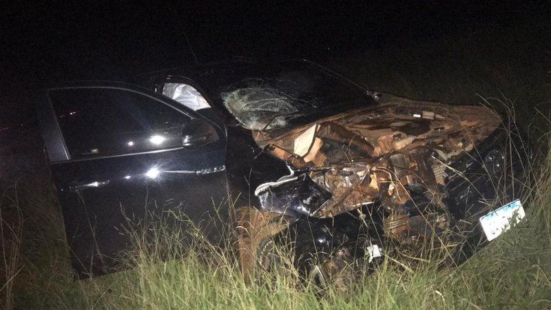 Irmãos morrem ao serem atropelados por Hilux em rodovia de MS