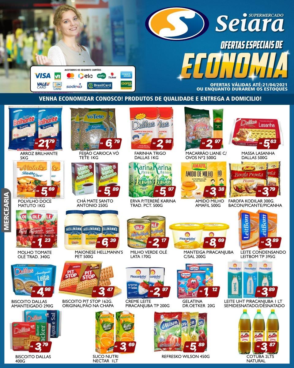 Seiara Supermercado Econômico: confira o folheto de ofertas