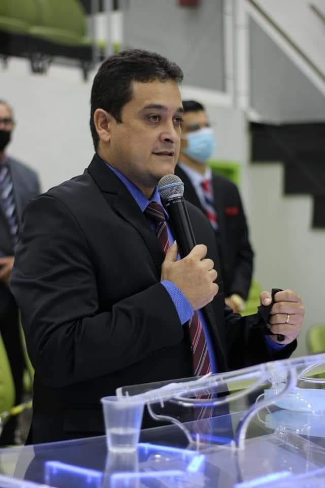 Irmão é o sucessor do saudoso pastor Clodoaldo na Igreja Assembléia de Deus Missões de Cassilândia