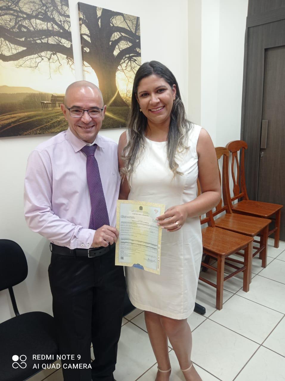 O casamento da vereadora Fernanda Messias com o advogado Jacques Douglas