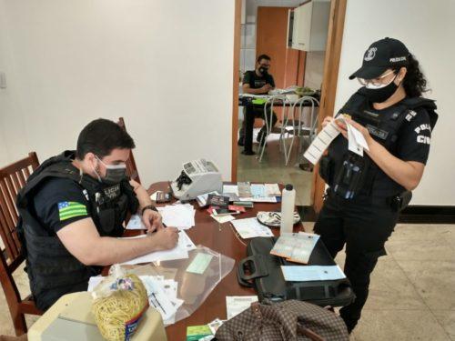 Polícia cumpre prisões e buscas contra o tráfico em GO, DF e mais dois Estados