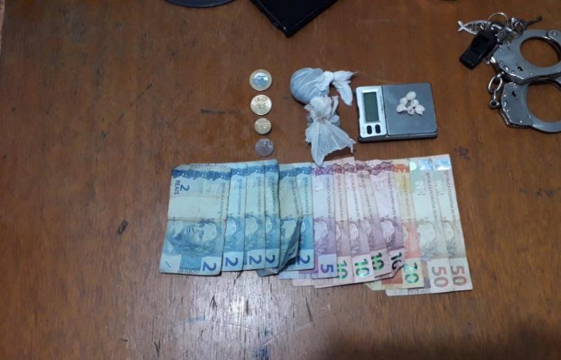 Homem é preso por tráfico de drogas em Paranaíba