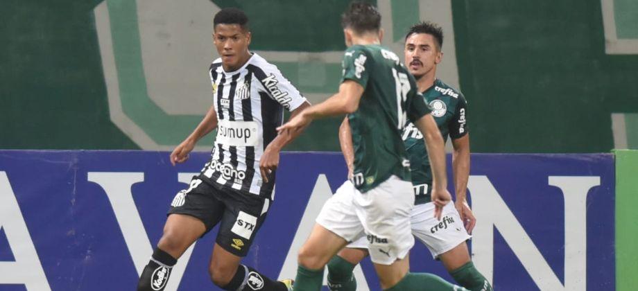 Paulistão: fora de casa, Santos perde para o Palmeiras