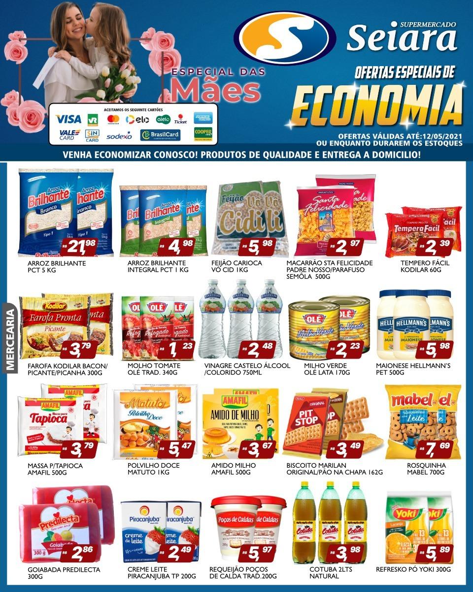 Seiara Supermercado Econômico tem novo folheto de ofertas; confira